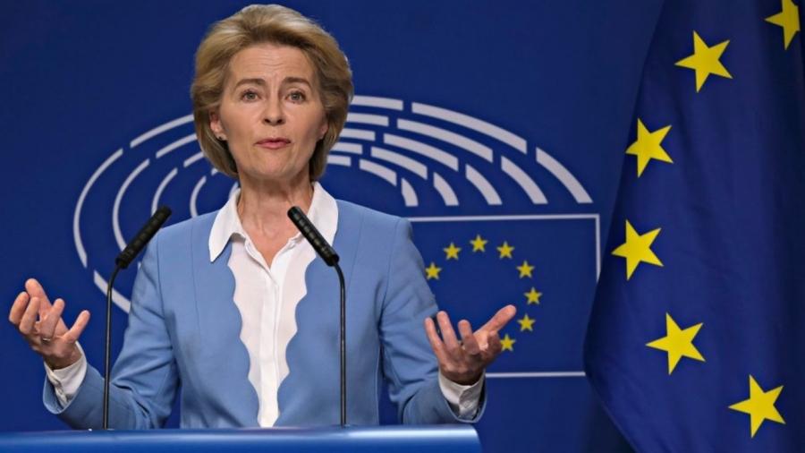 Η Von Der Leyen εκφράζει την πλήρη υποστήριξή της στην έναρξη ενταξιακών διαπραγματεύσεων των Σκοπίων με την ΕΕ