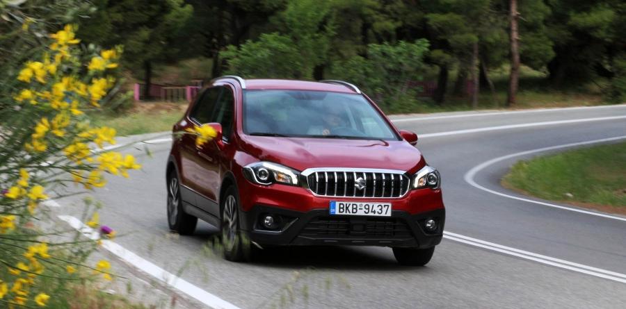 Δοκιμάζουμε το Suzuki SX4 S-Cross 1.4 VVT 4WD Hybrid AllGrip