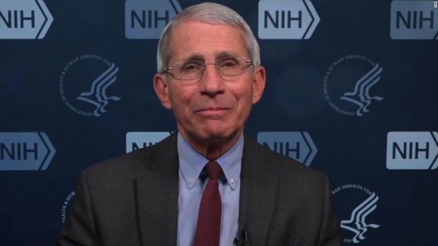 Anthony Fauci (Υγεία ΗΠΑ): Ήρθε η ώρα να επανεκκινήσουμε την οικονομία