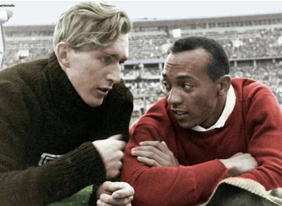 Λουτς Λονγκ - Τζέσε Όουενς: Ο θρίαμβος της ανθρωπιάς στους ρατσιστικούς Ολυμπιακούς Αγώνες του 1936