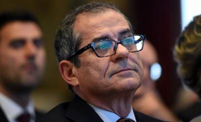 Tria (Ιταλός ΥΠΟΙΚ): Τεχνικό σφάλμα οι προβλέψεις της Κομισιόν - Ο στόχος για το έλλειμμα παραμένει στο 2,4%