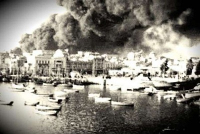 Βομβαρδισμός του Πειραιά 11 Ιανουαρίου 1944 (video)