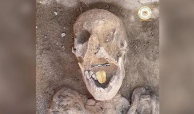 Αίγυπτος: Βρέθηκε μούμια 2.000 ετών με χρυσή γλώσσα... «για να μιλά με τον Όσιρι»