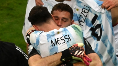 Copa America, Αργεντινή-Κολομβία 1-1 (3-2 πεν.): Ο Μαρτίνες έστειλε τον Μέσι στον τελικό! (video)