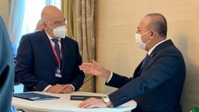 Στην Τουρκία ο Δένδιας στις 14 Απριλίου για επαφές με Cavusoglu - Στο τραπέζι συνάντηση Μητσοτάκη με Erdogan