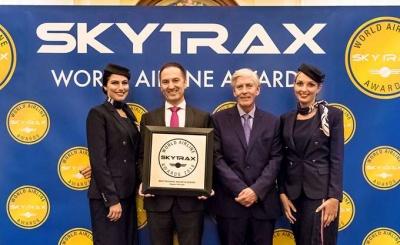 Η Aegean Airlines 8η συνεχόμενη χρονιά καλύτερη περιφερειακή εταιρεία της Ευρώπης στα Skytrax World Airline Awards