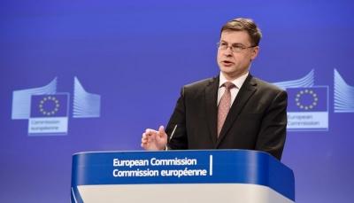 Dombrovskis (Κομισιόν): Η επικύρωση της επενδυτικής συμφωνίας μεταξύ ΕΕ και Κίνας έχει ανασταλεί