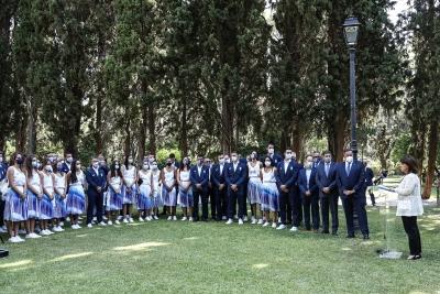 Ολυμπιακοί Αγώνες: Την Αποστολή δέχθηκε η Πρόεδρος της Δημοκρατίας