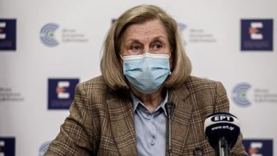 Θεοδωρίδου: Σταματά το Astrazeneca στους κάτω των 60 ετών - Κανονικά η 2η δόση για όσους έχουν εμβολιαστεί