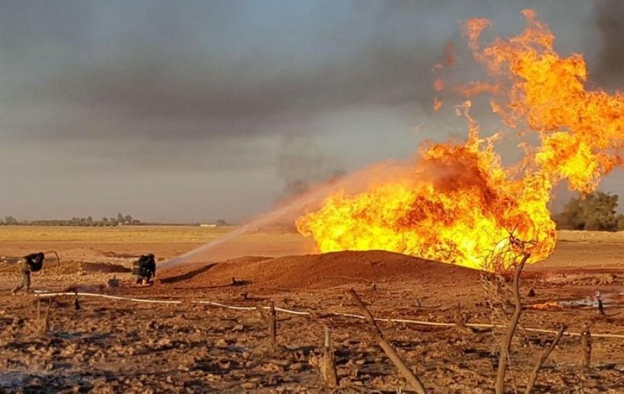 Το Ισλαμικό Κράτος ανέλαβε την ευθύνη για την επίθεση σε αγωγό φυσικού αερίου στη Συρία
