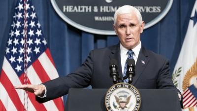 ΗΠΑ: Ο αντιπρόεδρος Pence ανέβαλε την περιοδεία του σε Φλόριντα και Αριζόνα, λόγω κορωνoϊού
