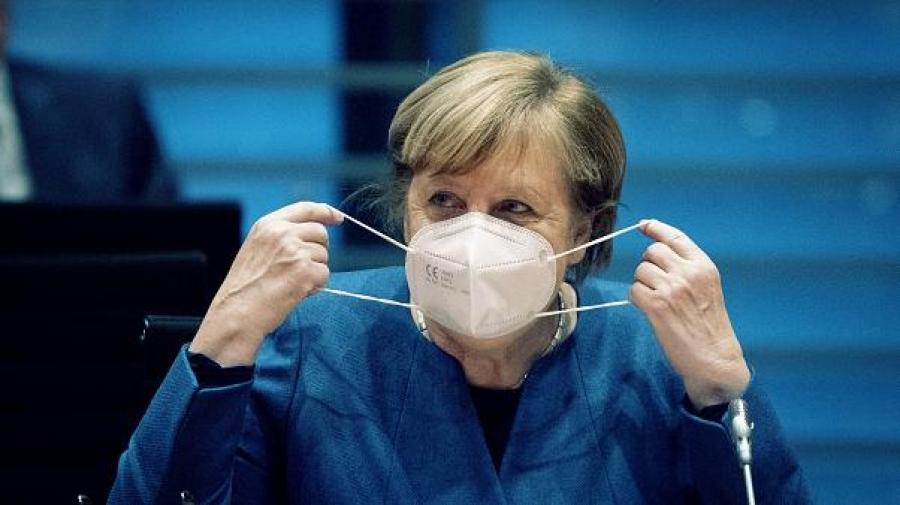 Merkel: Το τρίτο κύμα της πανδημίας θα είναι ίσως το χειρότερο για τη Γερμανία