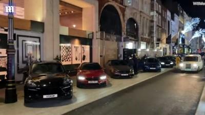 Λονδίνο - Κορωνοϊός: Αψήφησαν την καραντίνα και έκαναν βόλτες με Porsche, Mercedes και Lamborghini