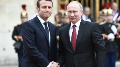 Επικοινωνία Putin - Macron για την Ουκρανία - Η Γαλλία χαιρετίζει την επιστροφή από τη Ρωσία 3 ουκρανικών πολεμικών