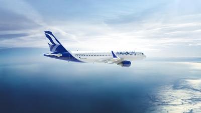 Η Aegean μετέφερε περισσότερους από 2,3 εκατ. επιβάτες τον Ιούλιο και τον Αύγουστο