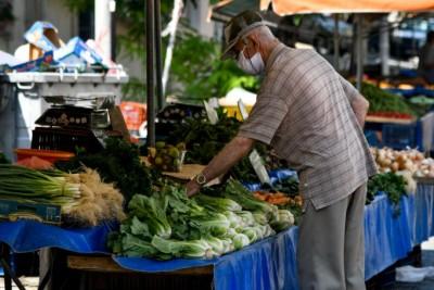 Από Παρασκευή 27/11 πιστώνεται η ενίσχυση σε παραγωγούς - πωλητές λαϊκών αγορών για το πρώτο lockdown