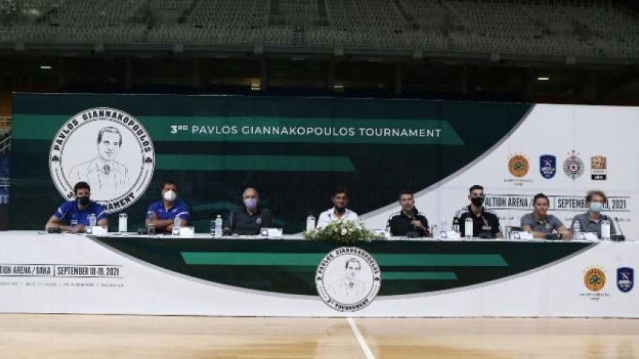 Δημήτρης Γιαννακόπουλος: Έδωσε το παρόν και ευχαρίστησε τον Ζέλικο