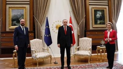 ΕΛΙΑΜΕΠ στο Politico: Ο Erdogan να μη διχάζει τους Ευρωπαίους, όπως στην περίπτωση του «SofaGate»