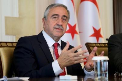 Συνδιαχείριση των κοιτασμάτων φυσικού αερίου ζητά ο Τουρκοκύπριος ηγέτης Akinci