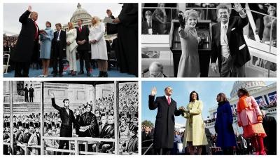 Παραλειπόμενα από ορκωμοσίες Αμερικανών προέδρων