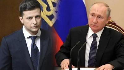 O Zelensky δεν αποκλείει τις απευθείας συνομιλίες με τον Putin για την διευθέτηση της κρίσης στην ανατολική Ουκρανία