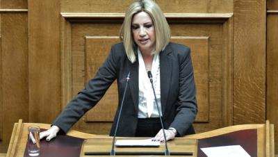 Γεννηματά (ΚΙΝΑΛ): Ναι στη συμφωνία με τη Γαλλία – Χρειάζεται νέα εθνική στρατηγική