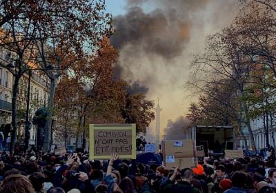 Γαλλία: Νέες μαζικές διαδηλώσεις κατά του Macron και του νομοσχεδίου για την αστυνομία  - Ένταση στο Παρίσι