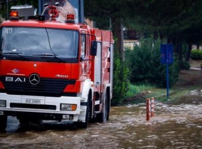 Σε κατάσταση έκτακτης ανάγκης η Χαλκιδική – Περισσότερες από 600 κλήσεις στην Πυροσβεστική