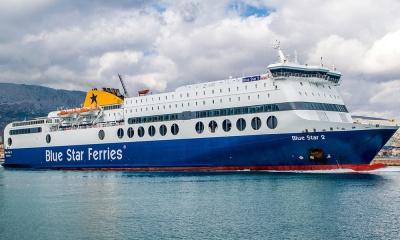 Κατέπλευσε στο λιμάνι της Ρόδου το επιβατηγό οχηματαγωγό πλοίο «Blue Star 2»