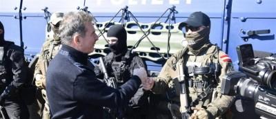Στον Έβρο ο Χρυσοχοΐδης μαζί με τον εκτελεστικό διευθυντή του FRONTEX