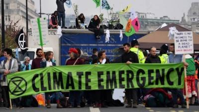 Βρετανία: Διαδηλώσεις στο κέντρο του Λονδίνου για την κλιματική αλλαγή