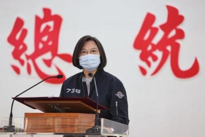 Η Ταϊβάν εύχεται καλή χρονιά στην Κίνα, αλλά δηλώνει πως δεν θα υποχωρήσει