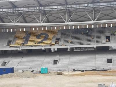ΑΕΚ: Μπαίνουν τα καθίσματα στην Αγιά Σοφιά - OPAP Arena και δίνουν... ζωή στο γήπεδο