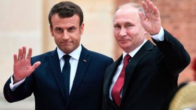 Επικοινωνία Putin - Macron για το Nagorno-Karabakh - Προβληματισμός για το ρόλο της Τουρκίας