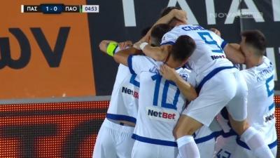 ΠΑΣ Γιάννινα – Παναθηναϊκός 1-0: Με τρομερό σουτ του Γκαρντάφσκι οι Γιαννιώτες παίρνουν προβάδισμα από το 5' (video)