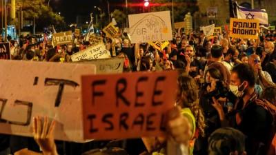 Ισραήλ: Διαδήλωση κατά του Netanyahu για τον περιορισμό των συναθροίσεων, λόγω Covid -19