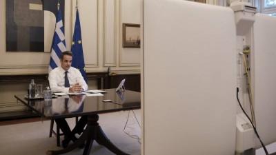 Η κρίσιμη τηλεδιάσκεψη υπό τον πρωθυπουργό για τον εμβολιασμό – Τι συζητήθηκε