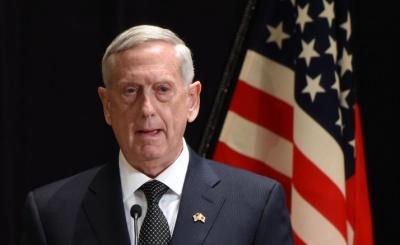Ο Mattis αναμένει μεγαλύτερη παρουσία αμερικανών διπλωματών στη Συρία