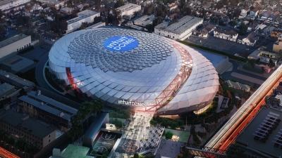 Λος Άντζελες Κλίπερς και Intuit θέτουν τις βάσεις για τον μεγαλύτερο «Θόλο» του ΝΒΑ αξίας 1,8 δισεκατομμυρίων δολαρίων!