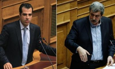 Σφοδρή σύγκρουση στη Βουλή – Πολάκης: Είστε δωσίλογοι – Πλεύρης: Βλάψατε τον τόπο - ΝΔ: Να αποκηρύξει ο Τσίπρας