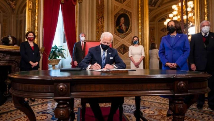 ΕΕ και ΟΗΕ χαιρετίζουν την επιστροφή των ΗΠΑ στη Συμφωνία του Παρισιού για το κλίμα