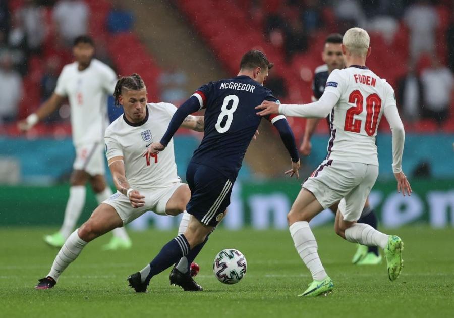 Είκοσι εκατομμύρια ανθρώπους «καθήλωσε» το ματς Αγγλίας και Σκωτίας - τηλεθέαση ρεκόρ για αγώνα EURO!