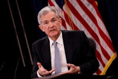 Powell (Fed): Κάτω από το «ουδέτερο» το τρέχον επίπεδο επιτοκίων - Μέτριος ο κίνδυνος για το σύστημα