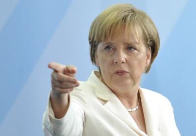 Merkel: Γερμανία, Γαλλία και Βρετανία θα κάνουν τα πάντα για να παραμείνει το Ιράν στην πυρηνική συμφωνία