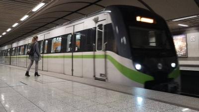 Αναστέλλεται από αύριο 20/3 η μεταμεσονύκτια λειτουργία μετρό και τραμ