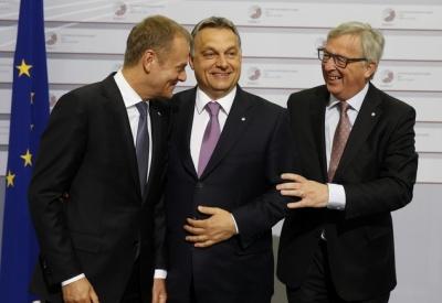 Juncker: Πρόβλημα για το ΕΛΚ η συμμετοχή του Orban