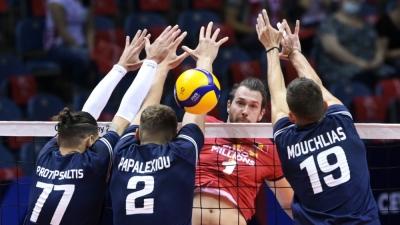 Ευρωπαϊκό πρωτάθλημα βόλεϊ ανδρών: Λύγισε από την ανωτερότητα του Βελγίου η Ελλάδα, γνωρίζοντας ήττα με 3-0 (video)