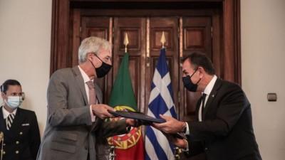 Αμυντική συμφωνία Eλλάδας - Πορτογαλίας: Αντιμετωπίζουμε τις προκλήσεις με ενότητα, αποφασιστικότητα και αλληλεγγύη
