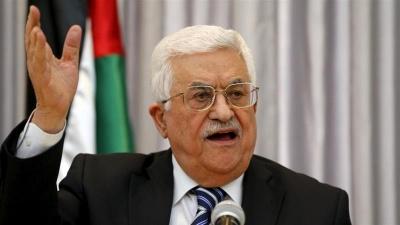 Ο πρόεδρος Abbas καταγγέλλει το ψήφισμα του κόμματος Likud για την προσάρτηση της Δυτικής Όχθης