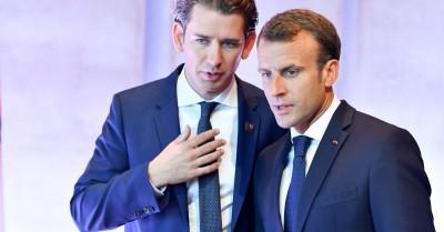 Συνάντηση Kurz (Αυστρία) με Macron (Γαλλία) στο Παρίσι για την καταπολέμηση της τρομοκρατίας